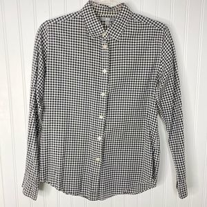 Uniqlo Button Up Long Sleeve Check Cotton Shirt M